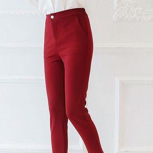 Michael Kors Merlot Ponte Knit Pant